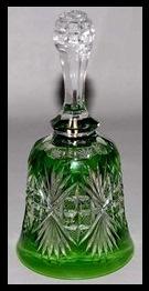 Green Dorflinger Glass
