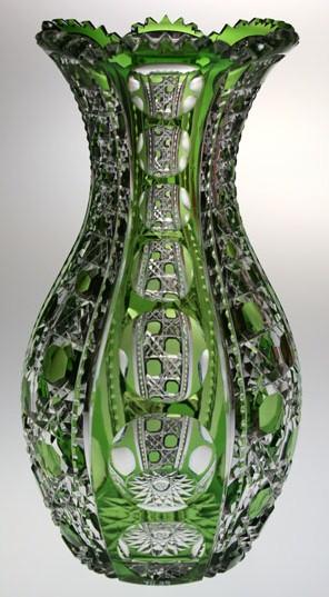 Green Dorflinger Vase