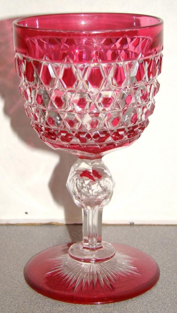 Red Dorflinger Cup