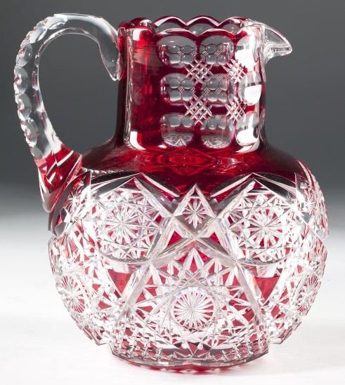 Red Dorflinger Pitcher